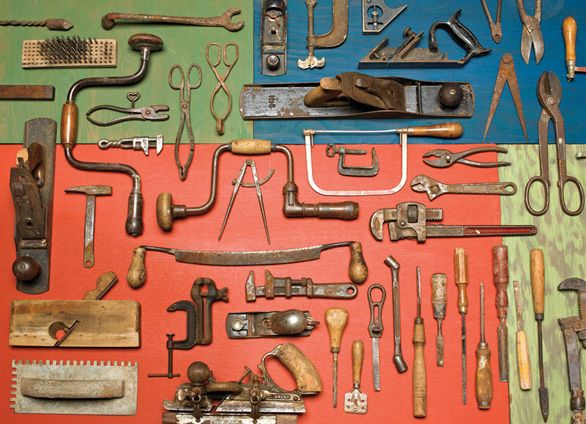 Old Tool Collection: Vintage Tools, Old Tools, Beautiful Tools, Woodworking Tools, Vintage Things, Father Day Gifts, Antiques Jack, Hands Tools, Jigsaw Puzzles