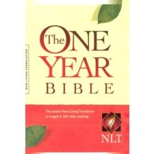 The One Year Bible, which helps customers read the entire Bible in one year in as little as 15 minutes a day, has a fresh, new look. The One Year Bible guides readers through God's Word with daily readings from the Old Testament, New Testament, Psalms, and Proverbs.