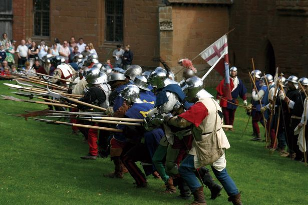 Kenilworth Castle will come under attack in its August Bank Holiday event Siege!