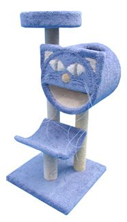 Deluxe Cat Tree with Cradle, Molly Cat Tunnel and Bed | | The Cat Connection in Dallas has in different colors too. #MollyAndFriends #cats #CatTree