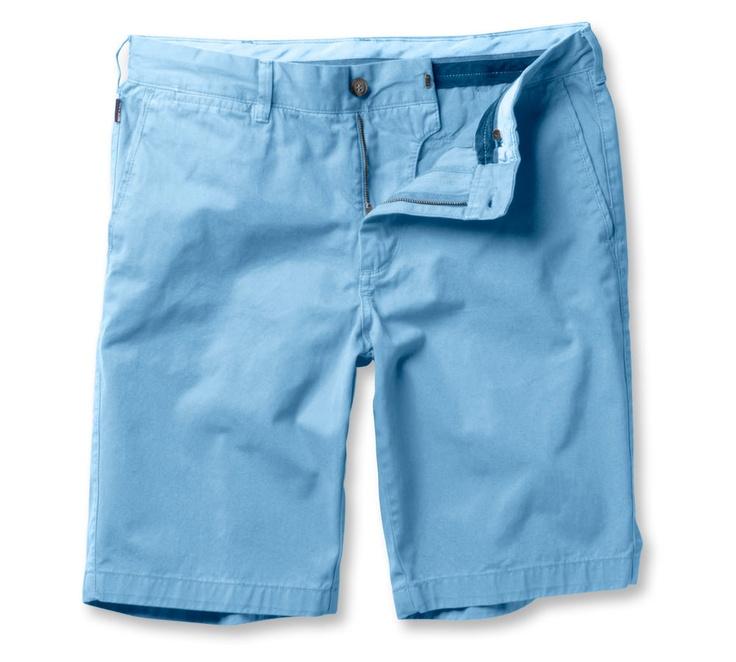 Chino Shorts for men, Light blue