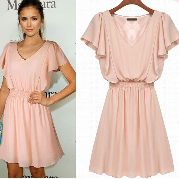Cap Sleeve Summer Dresses