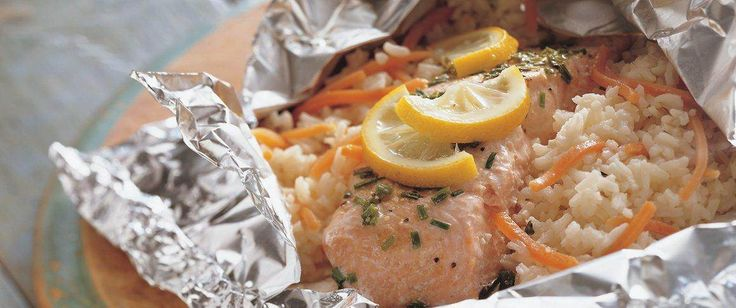 Delicious dinner packets are perfect patio or picnic pleasers!
