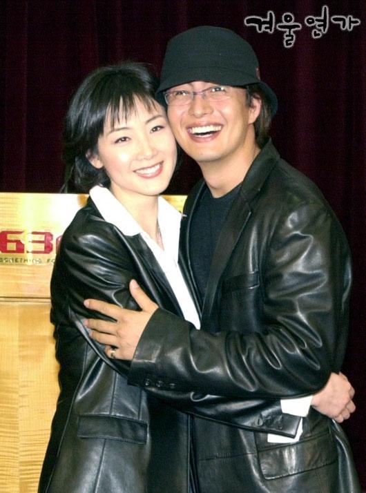 Bae Yong Joon and Choi Ji Woo