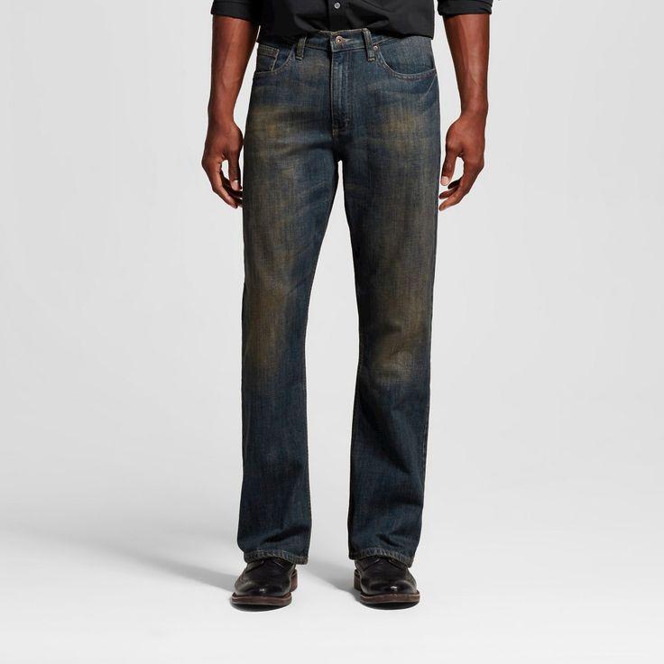 Wrangler Men's Bootcut Fit Jeans - Dirty 38X32