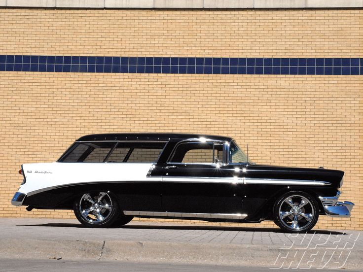 1956 Chevy Nomad Wagon.  I had a friend in the 70's that used to collect Nomads. i wonder what ever happened to his collection?