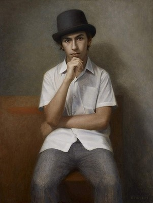 Portrait of the artist as a young man by Marcus Callum. Archibald Prize finalist, 2013