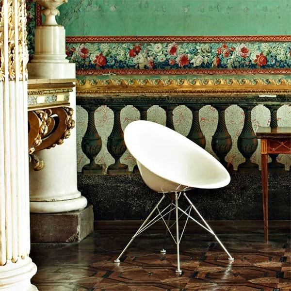 De Kartell Ero|S| stoel in een mooie eivorm. #stoel