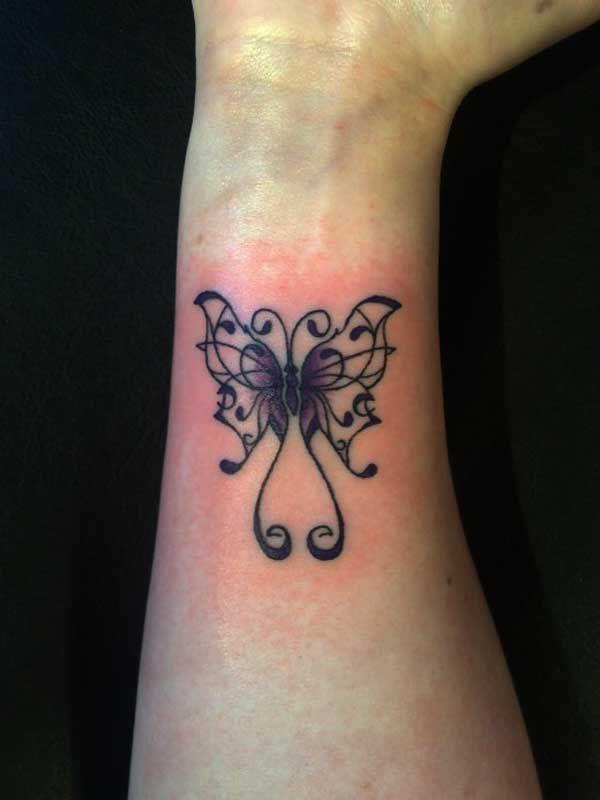 Small Girly Tattoo Ideas: 25 Small Tribal Tattoos On Wrist