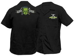 2014 Lethal Threat Spare Parts Casual Motorcycle Men's Work Shirt