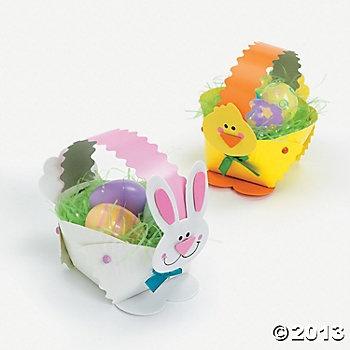 11 best baskets for kids kindergarten images on pinterest basket paper plate bunny chick easter basket craft kit negle Choice Image