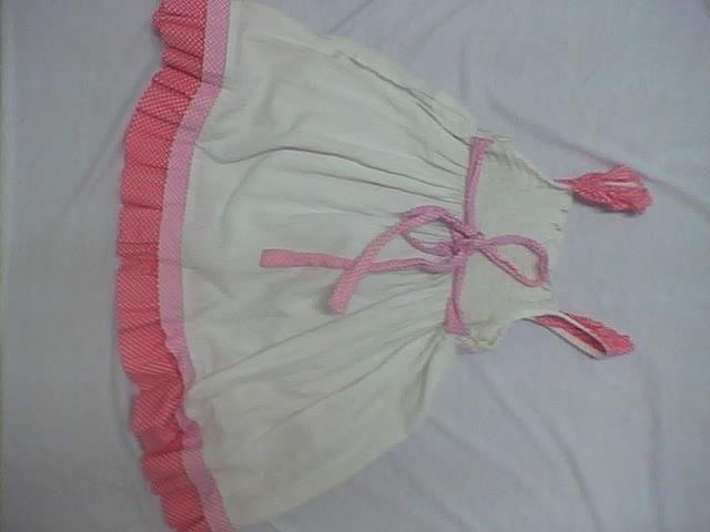 parte de atrás de vestido para niñas de tiras, con cordón amarre  #vestidos #moda #modazeus #molderia