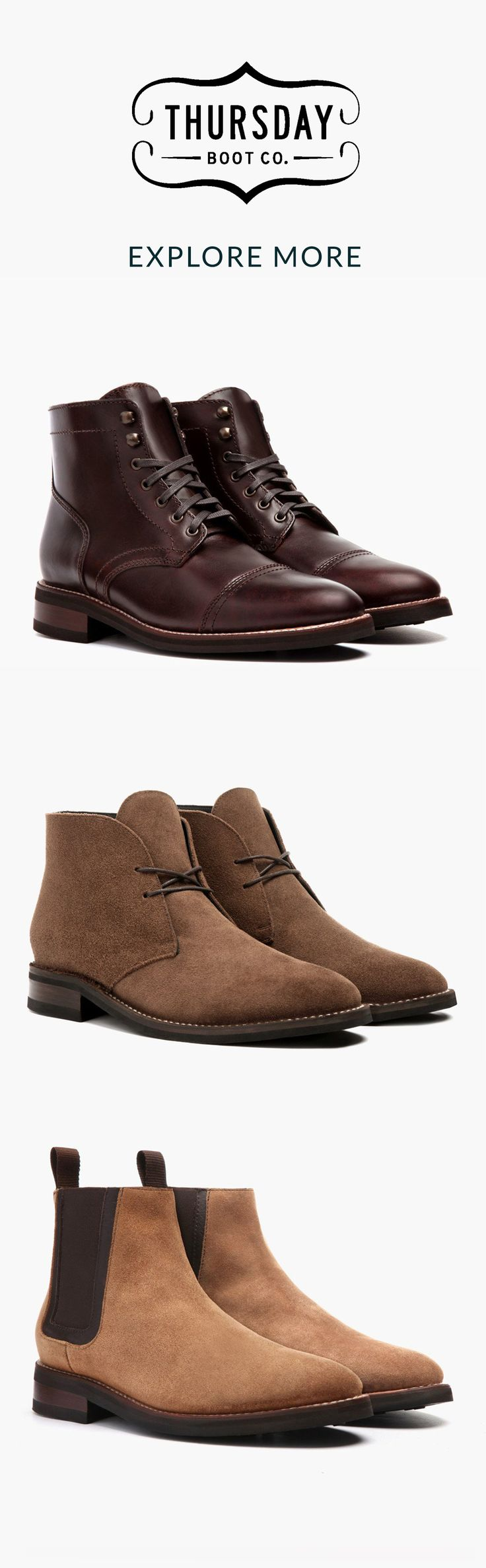 Explore the latest styles at thursdayboots.com. 3,000+ 5-Star Reviews · Easy & Secure Checkout · Free Shipping & Returns