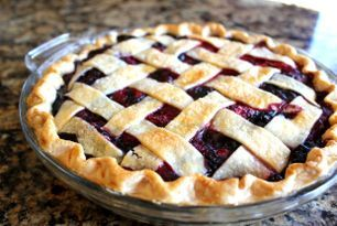 Triple Berry Pie with Lattice Top (Easier than you think!) (Jamie Cooks It Up)