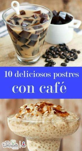 postres rapidos y faciles con cafe | CocinaDelirante
