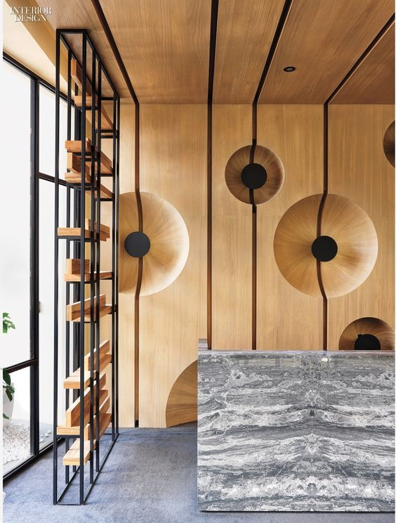 Cai-In Interior Design Co.: 2015 BoY Winner for Apartment Lobby See pre pictures at goo.gl/6DIlOq