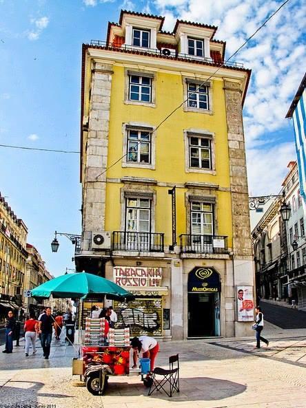 Portugal - Lisbon. Downtown.