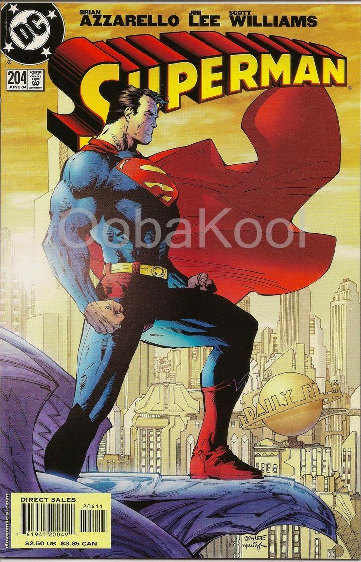SUPERMAN / DC COMICS VOL 2 #204 JUNE 2004 / OobaKool Comics