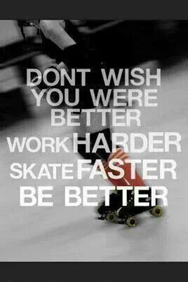 Roller Derby Inspiration and motivation