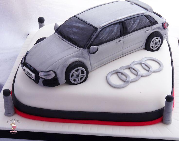 Audi A3 Cake Le Torte Di Michy Quot Cake Design Quot Pinterest