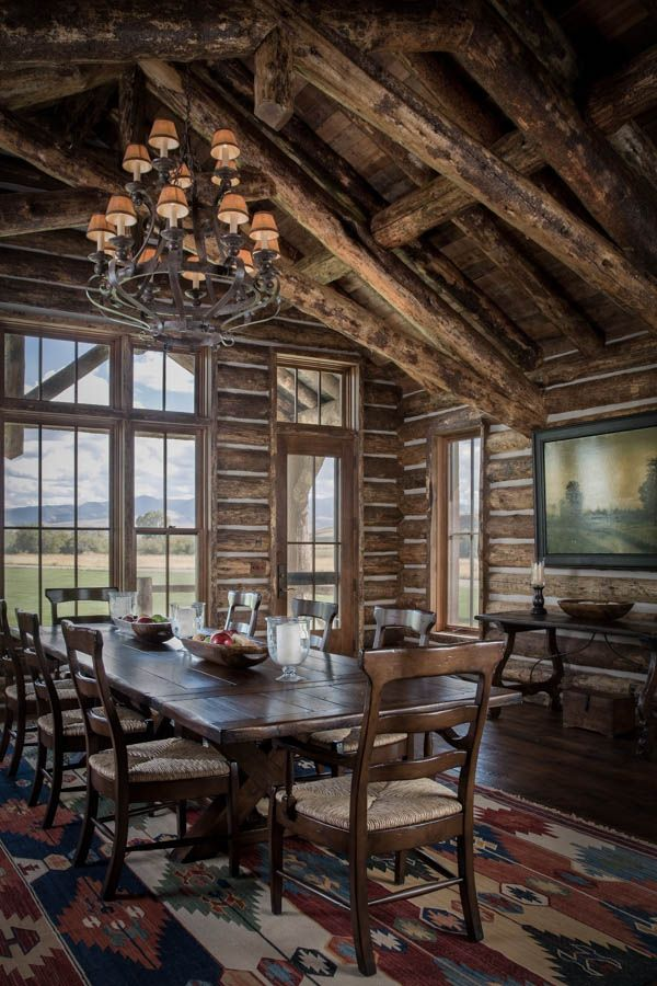 Images About Cabin Cottage Rustic Charm On Pinterest Dining Rooms