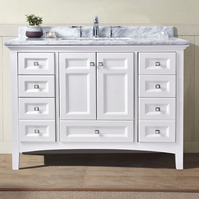 Katrita 42 Single Bathroom Vanity Set Reviews Joss Main Single Bathroom Vanity 42 Inch Bathroom Vanity White Vanity Bathroom