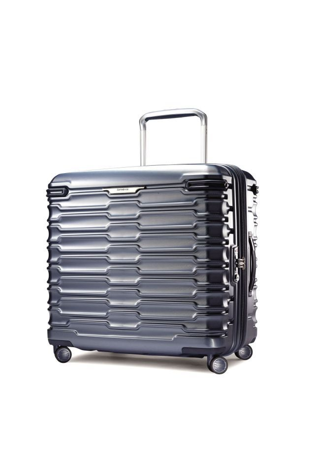 "<em>$260</em>  <a rel=""nofollow"" href=""https://www.amazon.com/Samsonite-Stryde-Hardside-Glider-Journey/dp/B01LYNIJHC/?tag=syndication-20"">BUY NOW</a>  Samsonite is turning the luggage industry on its side (literally!). Unlike <a rel=""nofollow"" href=""http://www.goodhousekeeping.com/travel-products/luggage-reviews/g4356/best-suitcases-reviews/"">most suitcases</a>, this polycarbonate one is wide, not tall. It has a low center of gravity, so it's stable and won't easily tip over if they stack…"