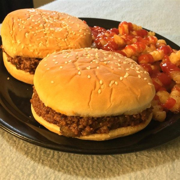 Homemade Sloppy Joes Recipe And Video