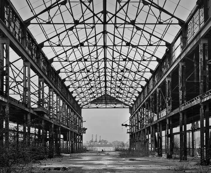 Abandoned boat building factory | Lawrence Hislop Photography