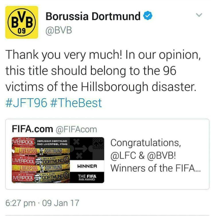 Spectacular Borussia Dortmund and Liverpool FC JFT