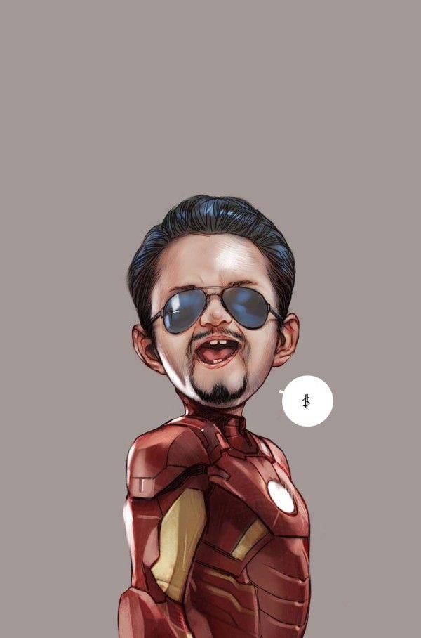 bebes avengers iron man   Bébés Avengers   veuve noire thor oeil de faucon nick…
