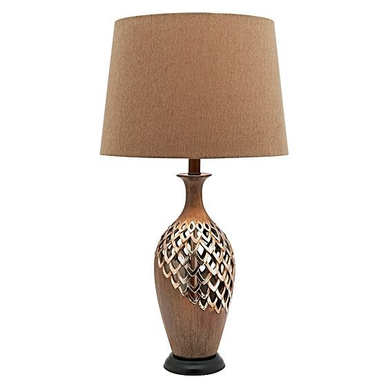 Exude a more glamorous vibe in your home with the evocative design of the Blomeley Table Lamp from Cougar Lighting.http://www.zanui.com.au/Blomeley-Table-Lamp-109896.html?ref=brand-page