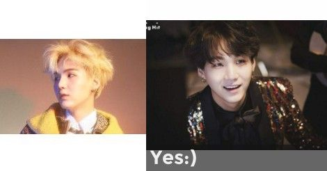 Yes:) | Are you Yoongi's Ideal Type?