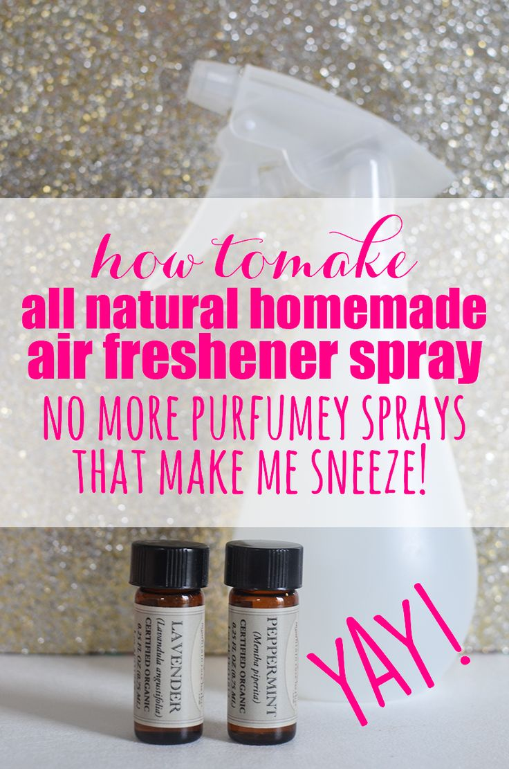 All natural homemade air freshener spray homemade - Natural air freshener for bathroom ...