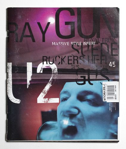 Ray Gun Magazine 45 - U2 Cover - April 1997 | eBay
