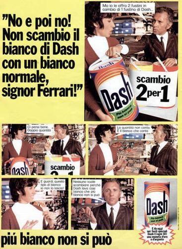 Dash detersivo anni 80