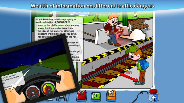 Wealth of information on different traffic dangers