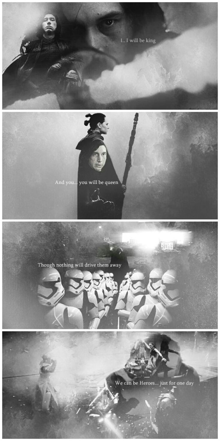 #star wars x #reylo x #kylo x rey