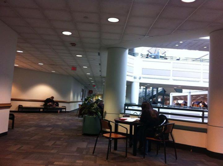 On the second floor, Johnson Center