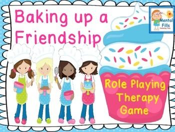 This updated adorable role playing game includes all the important skills required to make and keep a tween girls' friendship. Game offers fun handouts, worksheets, scripts, and questions that promotes thought provoking problem solving, communication skills, relationship, and social skills.1.