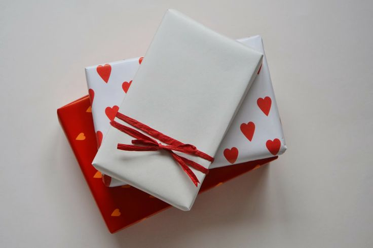 Valentines gift wrapping ideas.