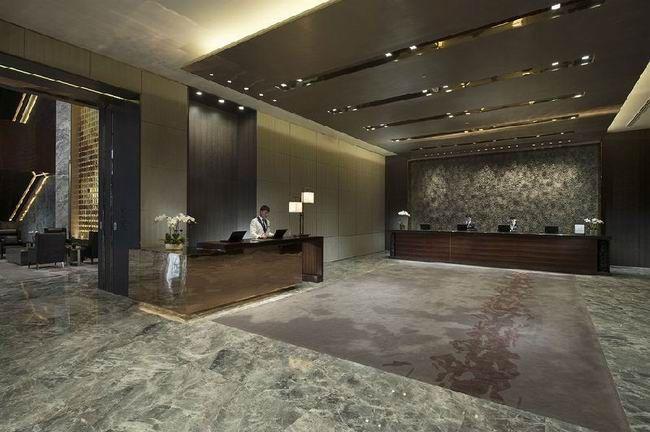 Grey Marble Floor-Beijing Kangdelai Hotel