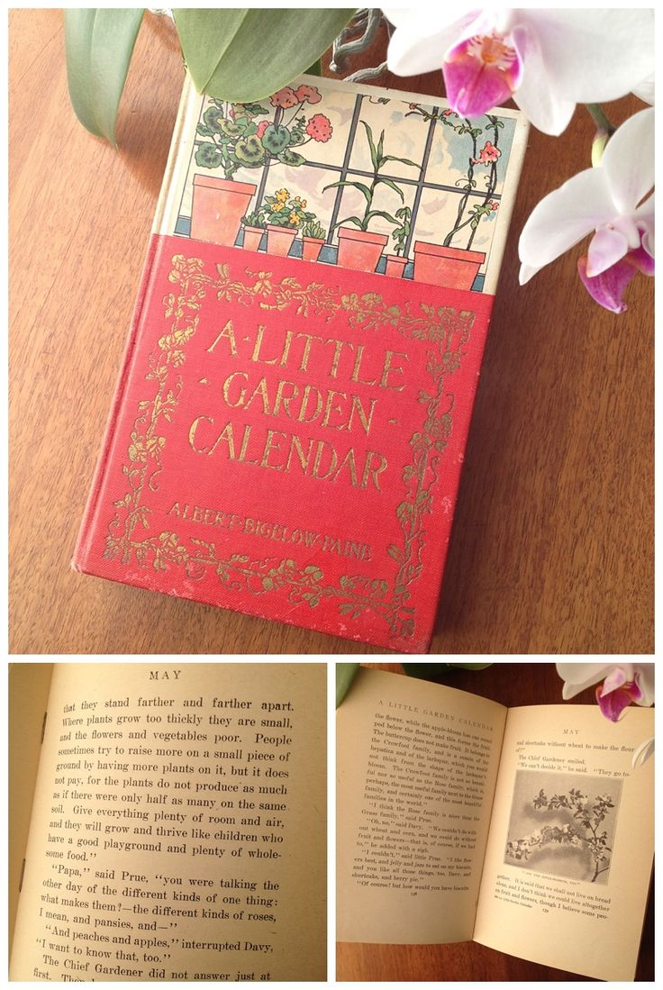 May Calendar Book : Happy may day book quot a little garden calendar by albert