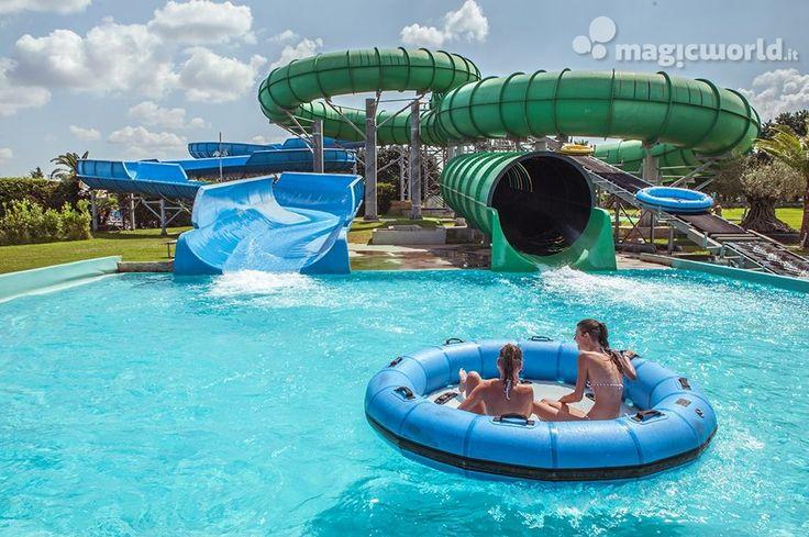 Oltre 25 fantastiche idee su scivoli per piscina su - Sognare piscine ...