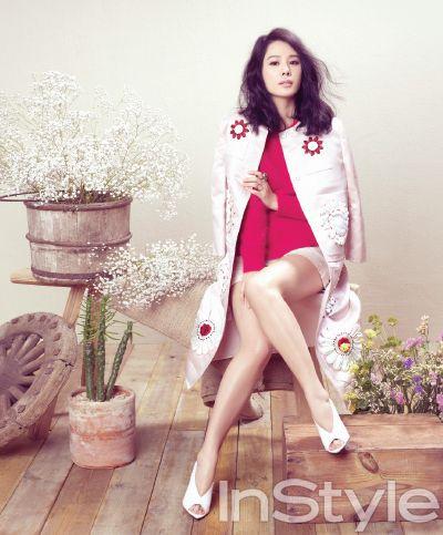 Kim Hyun Joo by Hyea W Kang for INSTYLE Korea Mar 2013.
