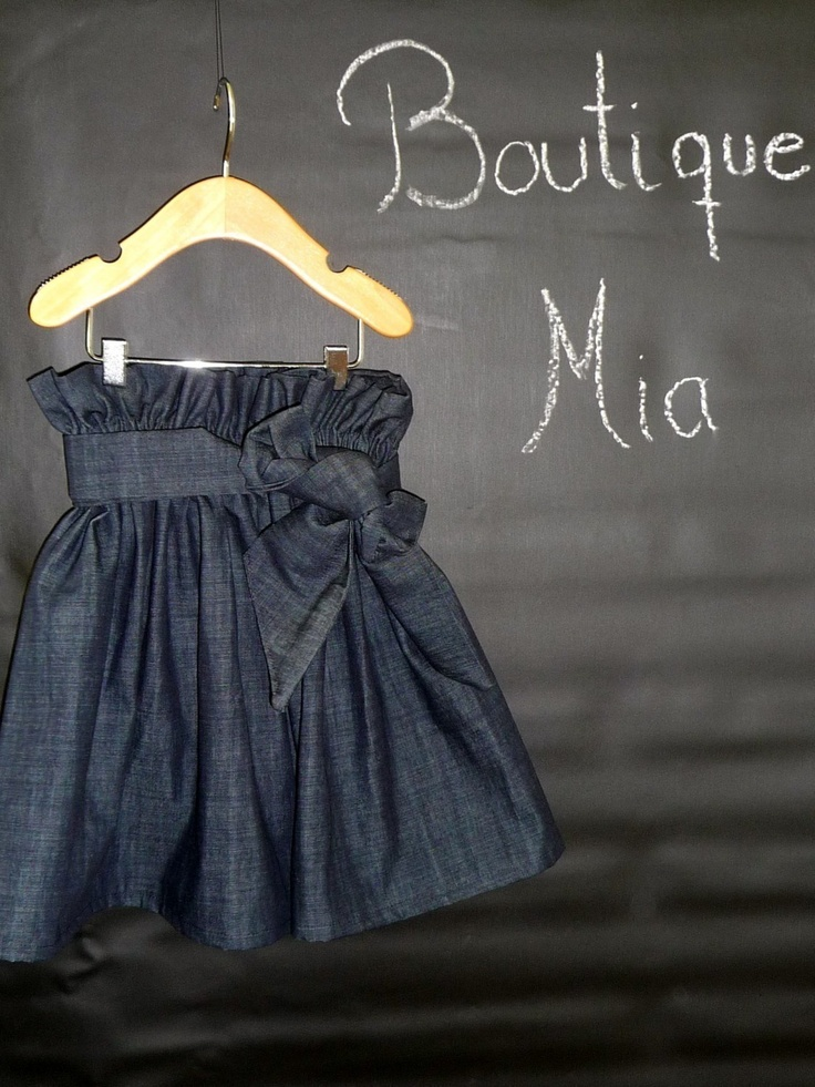 Paper Bag Denim SKIRT and SASH  Pick the size by BoutiqueMia, $30.00Plus Size Boutique, Bags Skirts, Bags Denim, Paper Bags, Boutiques Mia, Summer Skirts, Size Newborns, Jeans Skirts, Denim Skirts
