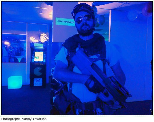 Video And Photo Highlights: Call Of Duty: Infinite Warfare Launch, #StayinAliveZA Cape Town #games #cod #callofduty #capetown #cosplay