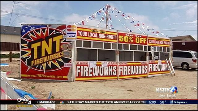 Fireworks stands are popping up on the Central Coast and you can already buy your 4th of July supplies in the Five Cities area.