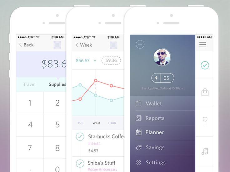 Finance iPhone App Interface DesignLooking for iPhone app designer or developer?http://ramotion.com  Google+|Dribbble|Behance|Twitter