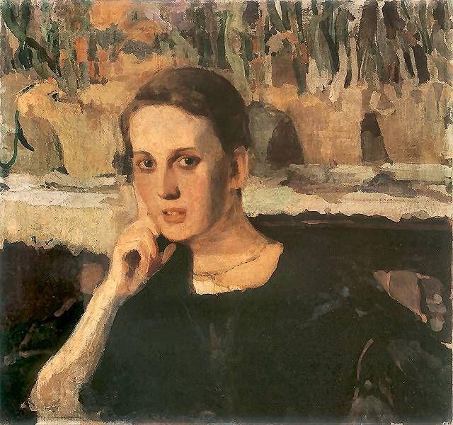 Portret Maryny Raczyńskiej.  1905. Tempera i olej na płótnie. 61,5 x 60 cm.  Muzeum Narodowe, Kielce.  http://www.pinakoteka.zascianek.pl/Wojtkiewicz/Images/Maryna_Raczynska.jpg